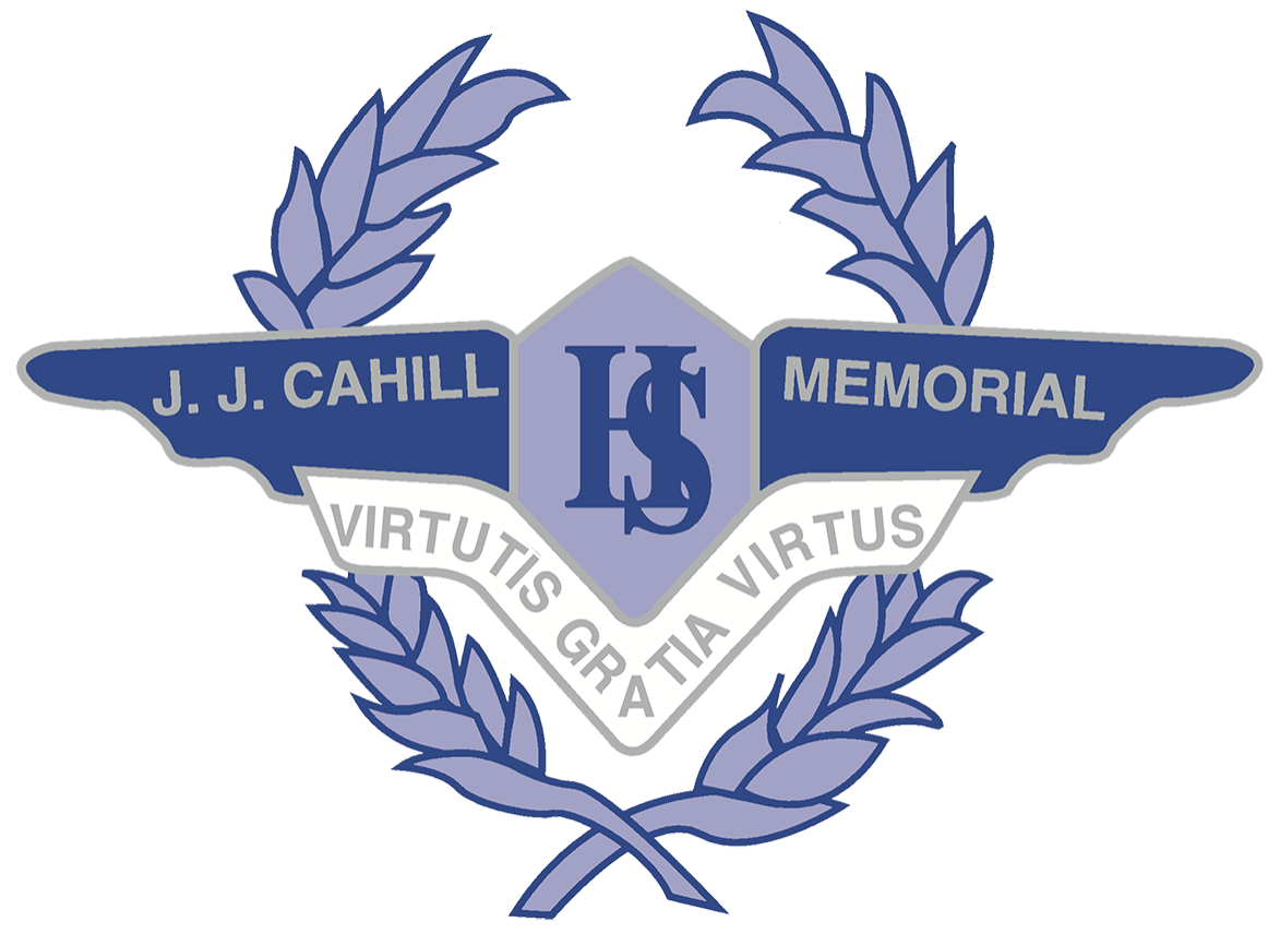 J J Cahill Memorial High School logo